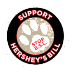 Hershey logo black circle small